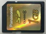 Panasonic/SDカード1GB