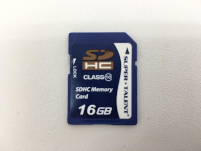 SUPER TALENT/SDカード16GB
