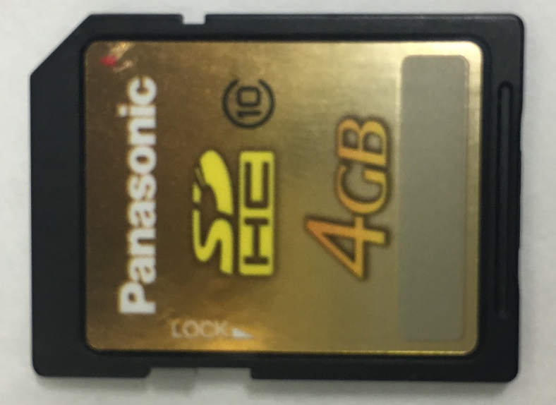 Panasonic/SDカード4GB